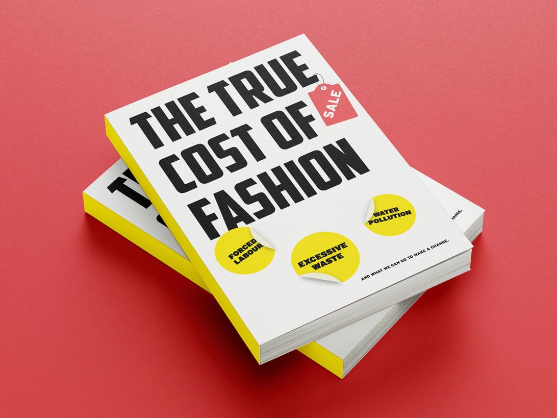 mock-up of publication cover design