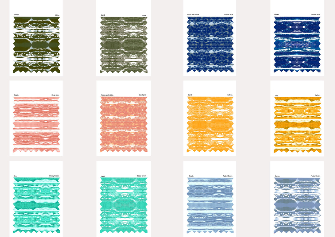 pattern based graphic prints