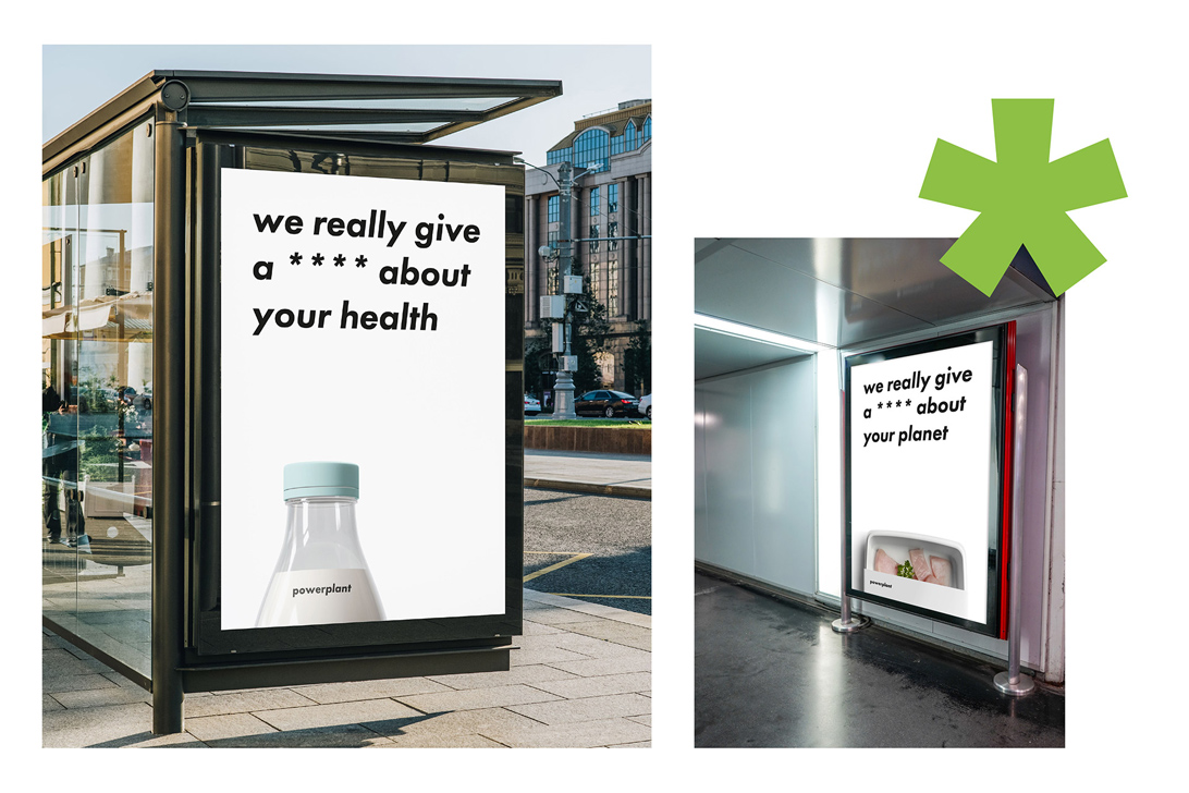 photo mock-up of brand promotion materials