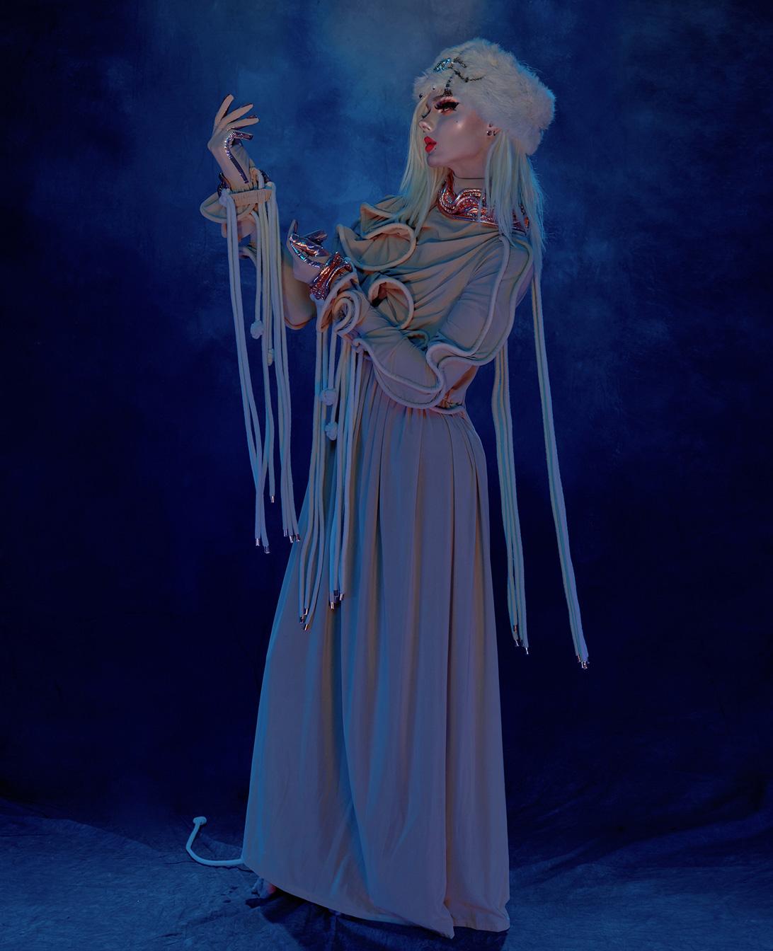 photograph of drag artist Ava Cassandra's persona