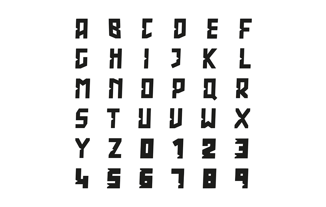 brand typeface graphic