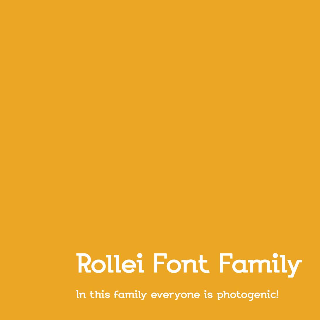 Headline typography