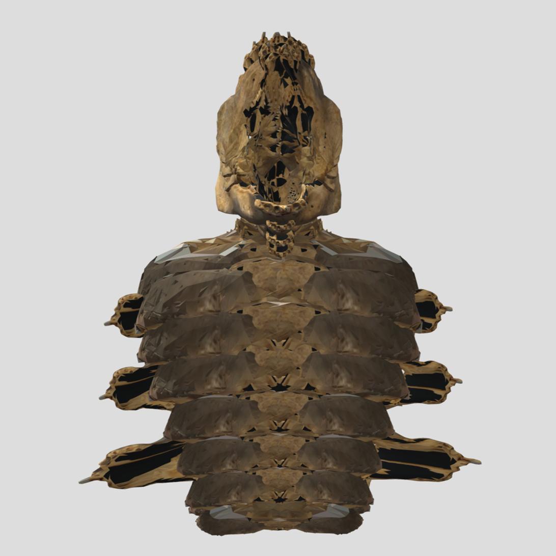 screen shot of a digital 3D model
